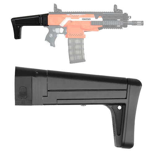 Worker MOD F10555 XCR-L Rifle Style Foldable ButtStock for Nerf Toy