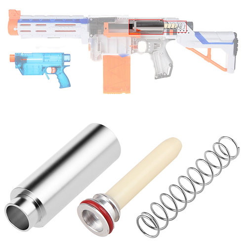 Worker MOD Metal Chamber Plunger 9KG Spring Kit for Nerf Retaliator Prophecy Toy