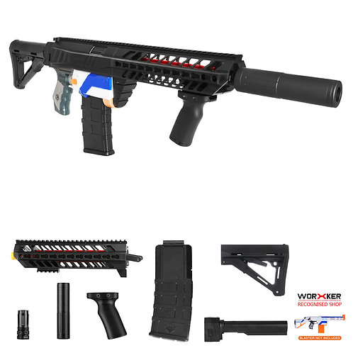 Worker MOD SIG SAUER MCX Imitation Kit Mass Combo for Nerf Retaliator