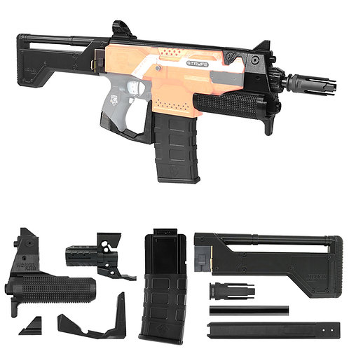 Worker F10555 Deus EX Widowmaker TX mao 3D Printing Kit for Nerf STRYFE Modify