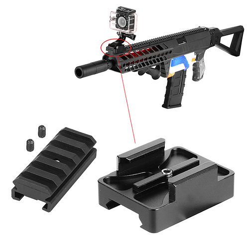 AKBM Aluminum Rail Gun Mount GoPro Camera