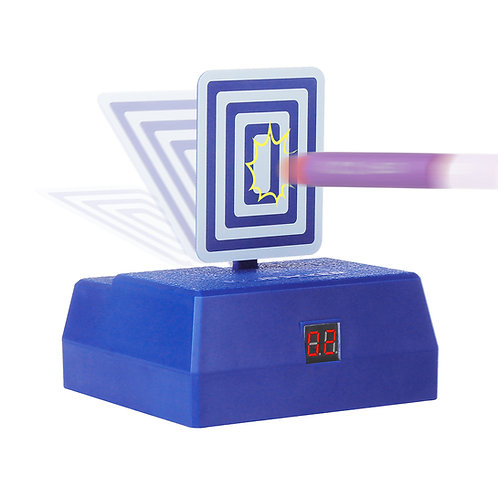 Worker MOD Auto Target Mobile Stand with Hit Counter for Nerf War Battle Toy