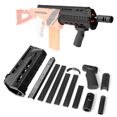 Worker MOD MASADA Rifle Imitation Kit 3D Print for Nerf Alpha Trooper