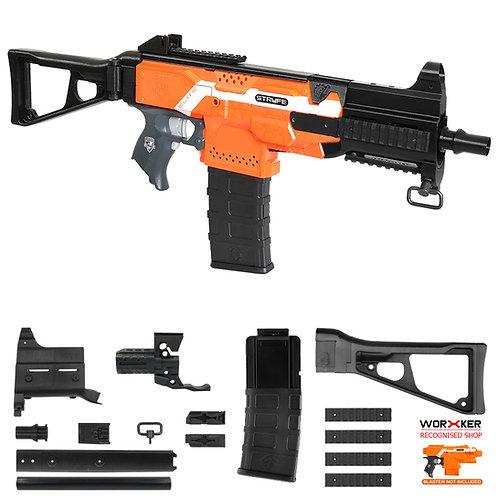 Worker MOD F10555 UMP9 Rifle Imitation Kit for Nerf Stryfe