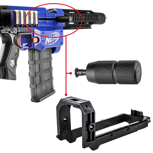 Worker MOD Bolt Sled Kit and Pull Grip for Nerf Retaliator