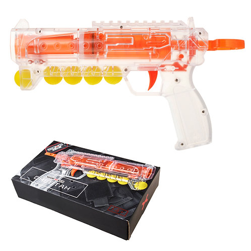 Worker MOD Cheetah Springer Blaster Rival Foam Ball Nerf Modify Toy