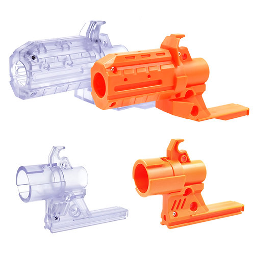 Worker MOD Front Muzzle Adaptor 19mm tube for Swordfish Nerf Stryfe