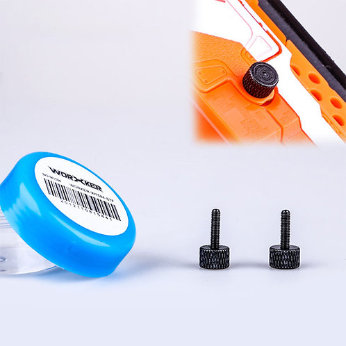 Worker MOD Thumb Screws Battery Cover for Nerf Stryfe RapidStrike