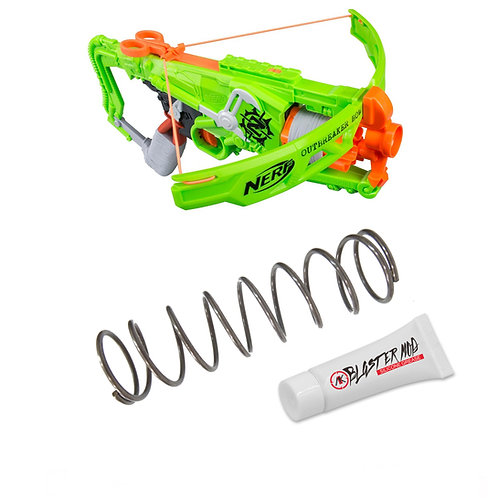 Nerf Zombie Outbreaker Bow 5KG Modification Upgrade Spring Coil Blasters Dart To