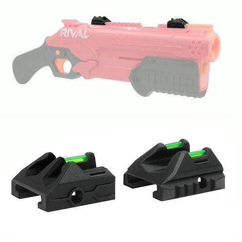 Fiber Optic Dot Sight for Nerf Blaster Tactical Rail Set Modify Toy