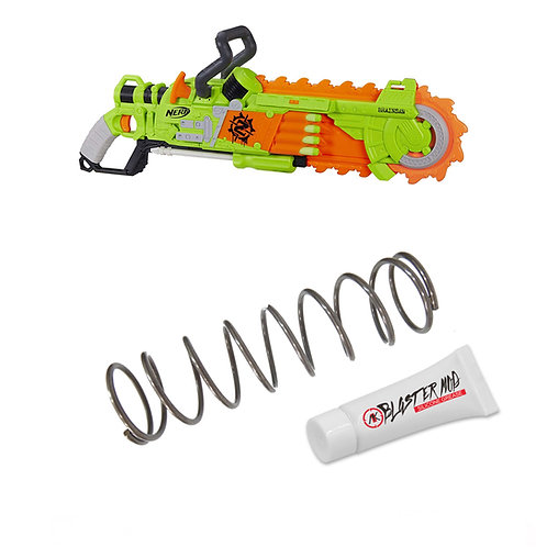 Nerf Zombie Brainsaw 8.5KG Modification Upgrade Spring Coil