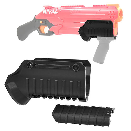 Tactical Pump Kit Fore Grip Convertible for Nerf Rival TakeDown Blaster Toy