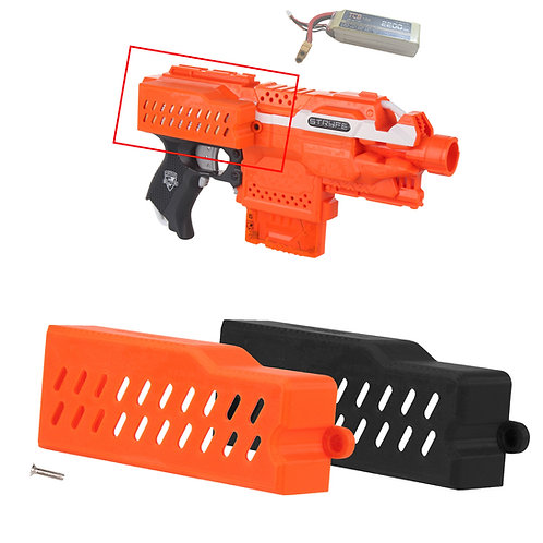 Worker MOD F10555 Extra Large LiPo Battery Cover Door Kit for Nerf Stryfe