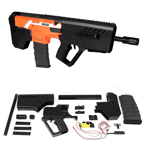 XSW 3D Print TAR-21 Bullpup Rifle Imitation Auto Strike Kit for Nerf Stryfe