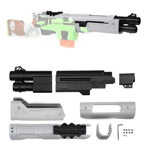 MaLiang 3D Print Doomsday MOD1 Barrel Muzzle Kit for Nerf SlingFire