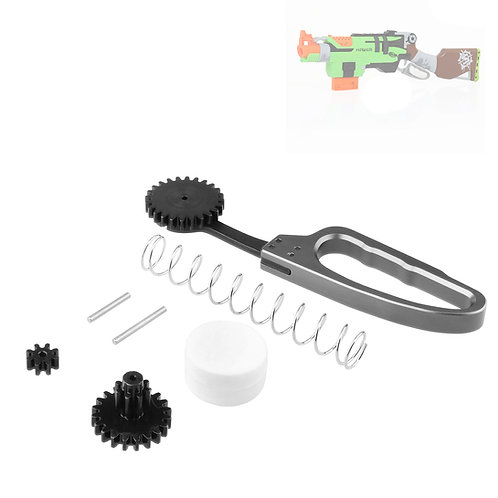 Worker MOD Metal Lever Action Gear Reinforce Kit for Nerf SlingFire