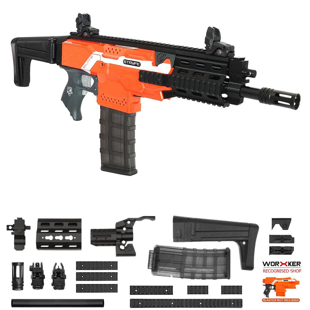 Worker MOD F10555 XCR-L Imitation Kit 3D Printing Combo for Nerf STRYFE