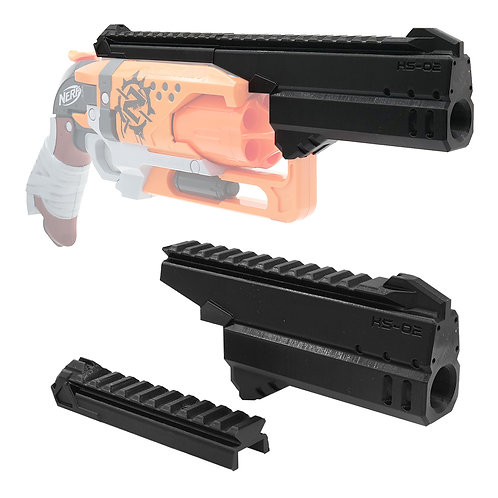 MaLiang 3D Print Handgun Barrel Top Rail for Nerf HammerShot