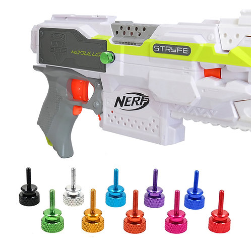 AKBM Thumb Screws XL 10 Colours Battery Cover for Nerf Stryfe