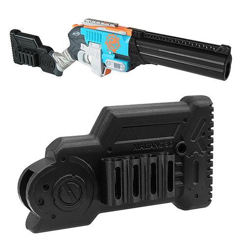 MaLiang 3D Shotgun ButtStock with Dart Clips for Nerf Zombie SledgeFire