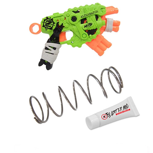 Nerf Zombie Alternator 8.5KG Modification Upgrade Spring Coil