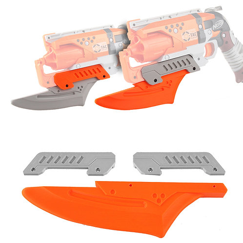 Worker MOD Tactical Handgun Barrel 3D Print for Nerf HammerShot