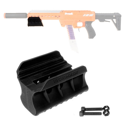 Worker MOD Steamline Pump Grip 3D Print for AF Nexus Pro Blaster Toy