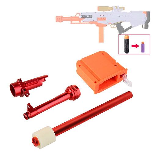 Worker MOD Short Dart Metal Breech Tube Kit for Nerf Ultra Pharaoh Modify Toy