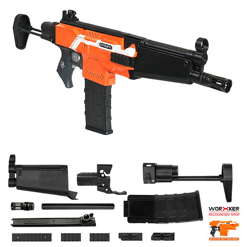 Worker MOD F10555 MP5A Rifle Imitation Kit for Nerf Stryfe