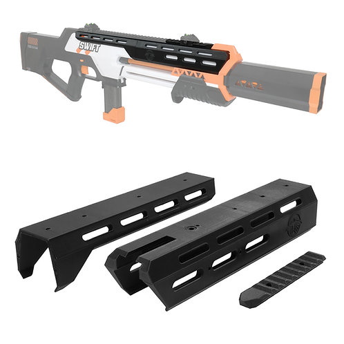 AK Blaster MOD Meteorite Body Kit Top Rail Cover for Worker Swift Modify Toy