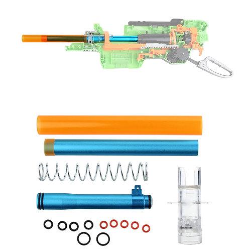 Worker MOD Short Dart Stefan Metal Breech Tube Kit for Nerf SlingFire Modify Toy