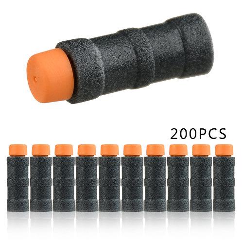 Worker MOD Black Bamboo Short Darts Stefan 200pcs box set for Nerf Blaster Toy