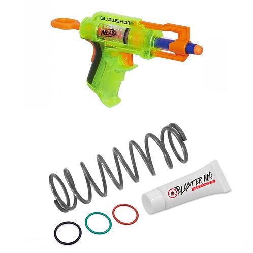 Nerf Glow Shot 12KG Modification Upgrade Spring Coil Blaster Modify Dart Toy