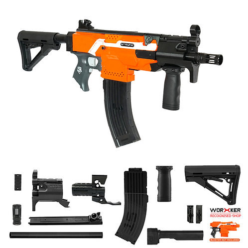 Worker MOD F10555 MP5K PWD Imitation Kit 3D Printing Combo for Nerf STRYFE