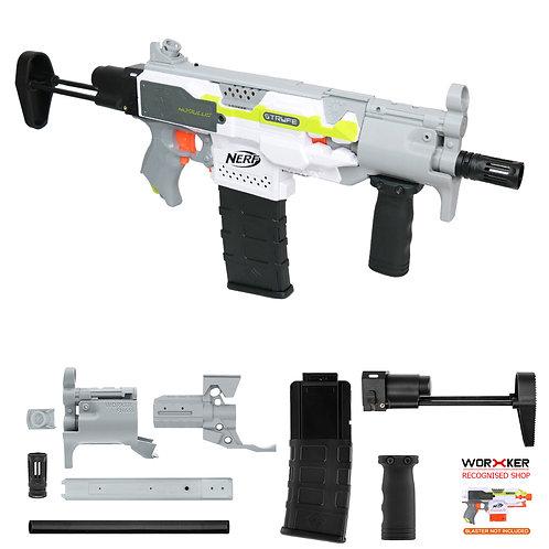 Worker MOD F10555 MP5K PWD Imitation Kit Gray Combo for Nerf Stryfe