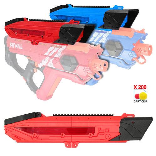AKBM Extended Hopper 3D Printed Shell for Nerf Rival Perses