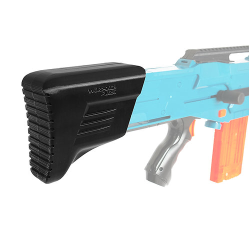 Worker MOD F10555 3D Print Fixed Butt Stock for Nerf LongShot Modify Toy