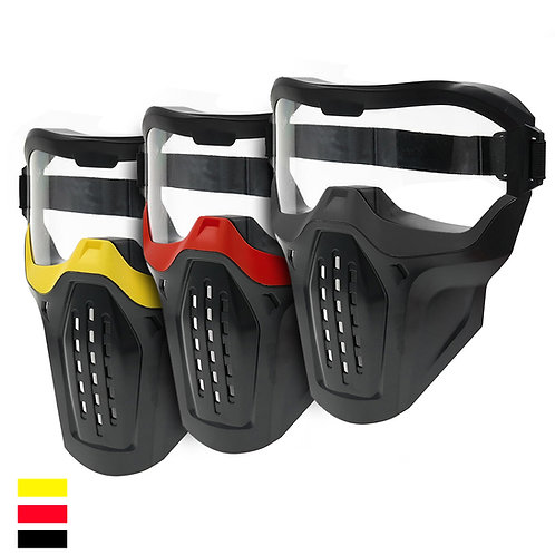 AKBM Tactical Face Safety Mask for Nerf War Kids Wear