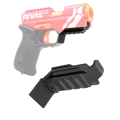 AKBM Printed Rail Cover Ball Storage removed for Nerf Rival Knockout Modify Toy