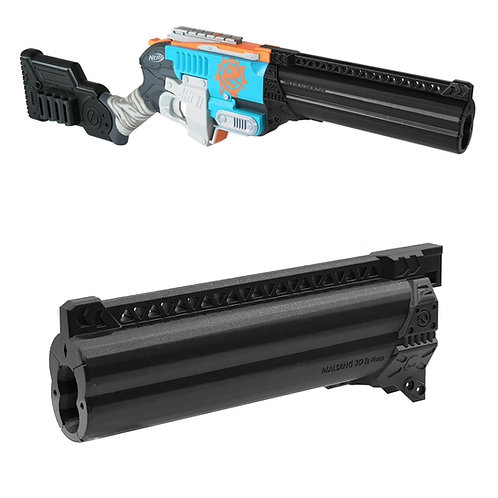 MaLiang 3DPrint Pluto Shotgun Dual Barrel for Nerf Zombie Sledge Fire Modify Toy