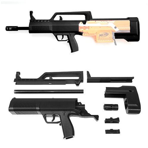 XSW 3DPrint QBZ 95-1 Bullpup Rifle Imitation Auto Kit for Nerf Stryfe