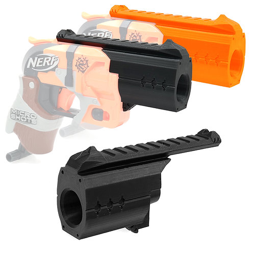 AKBM Barrel Tactical Rail Kit for Nerf Micro Hammershot
