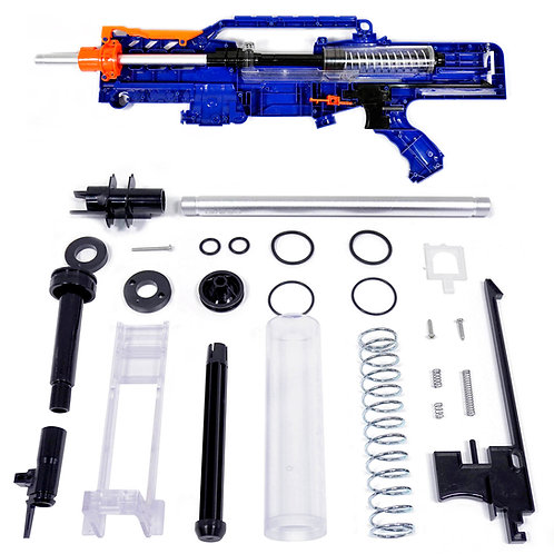 Jet Blaster Alpha LS Kit Stefan Short Dart Breech Bolt for Nerf LongShot Worker