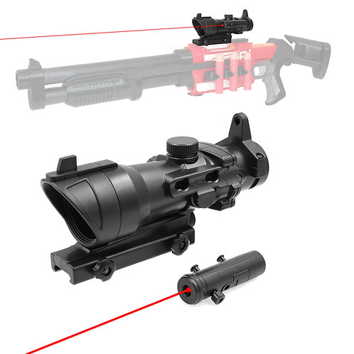 AKBM Tactical Close Range Adjustable Scope Pointer for Nerf Toy