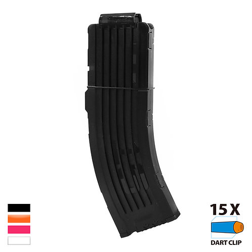 Worker MOD Banana Style 15 Darts Magazine for Nerf Toy
