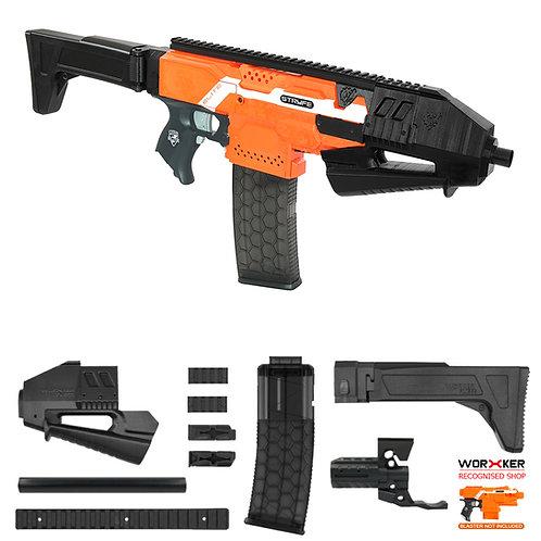Worker MOD F10555 SAF-200 Rifle Imitation Kit for Nerf Stryfe