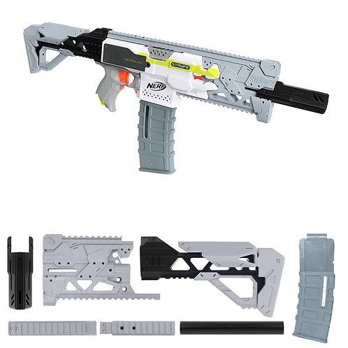 MaLiang 3D Strike 2 Rlife Imitation Gray Kit 3D Print Nerf Stryfe