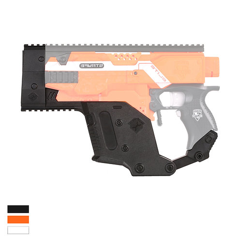 Worker MOD Kriss Vector Style Low Receiver for Nerf Stryfe