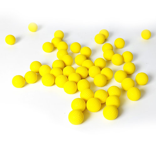 100 Rounds High Quality Ammo Hi-Impact Foam Balls Compatible for Nerf Rival Toy