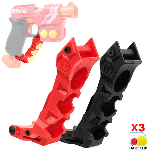 AK MOD Print Handle Guard Grip Rival Ball Holder for Nerf Knockout Modify Toy